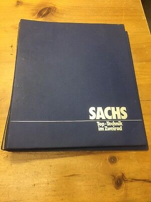 SACHS TECHNICAL GUIDE BOOK WORKSHOP DUOMATIC GERMAN BIKE BICYCLE RARE 1980s