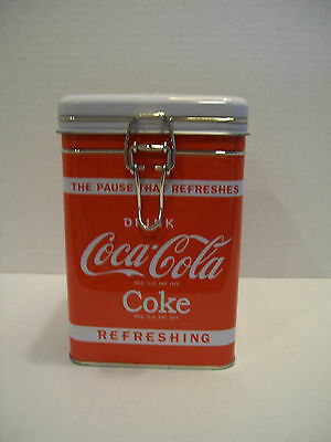COKE COCA-COLA Cooler Container Tin