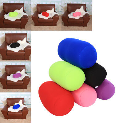 Microbead Back Cushion Roll Throw Pillow Travel House Bed Sofa Sleep Neck SG