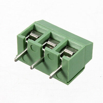 New 3 Pin 5.08mm Pitch Screw Terminal Block Connector