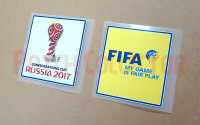 Confederation Cup Russia 2017 Sleeve Soccer Patch/Badge