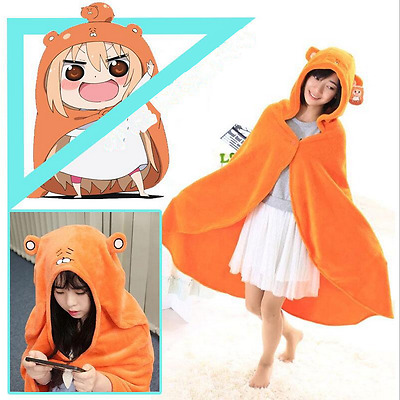 Anime Himouto Umaru-chan Doma Umaru Cloak Hoodies Cosplay Coat Daily Blanket
