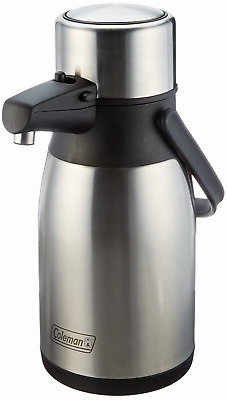 NEW Coleman C01A153 Stainless Steel Air Pot, 2.5-Liter