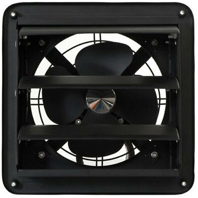 Fanmaster Industrial Hardwired 200mm Louvered Wall Exhaust Fan IWEL200