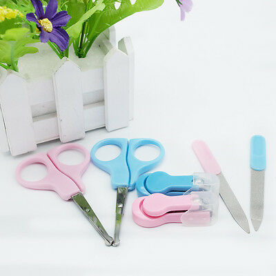 Fashion Lot 3Pcs Lovely Newborn Baby Kids Nail Clippers File Set Beauty Tool Kit