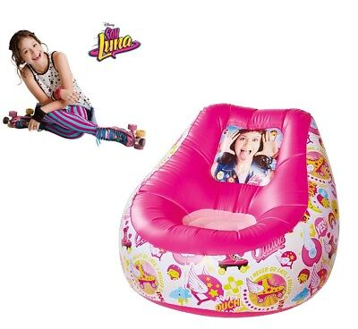 Disney's Soy Luna Official Chill Chair, Inflatable Childrens Chair. Gift Xmas