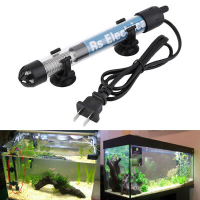 50W 100W Aquarium Mini Submersible Fish Tank Adjustable Water Heater YG