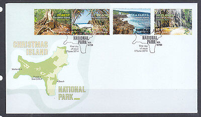 Fdc: 2014 National Park Set Perfect