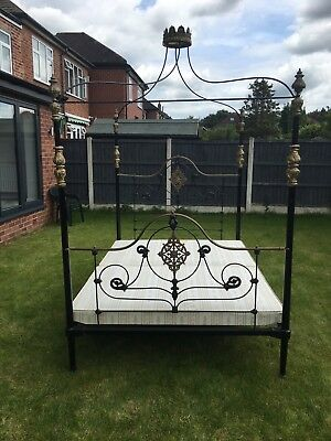 Seventh Heaven King Size 4 Poster Bed