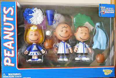PEANUTS You're an ALL STAR: SET Charlie Brown, Linus, Sally-Action Figure SNOOPY