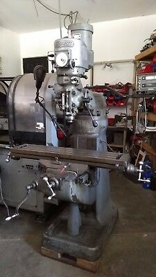 9x42 Bridgeport Variable Speed Milling Machine with DRO