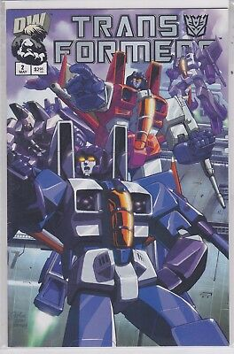 Transformers Generation One #2b DW Dreamwave productions variant edition #2