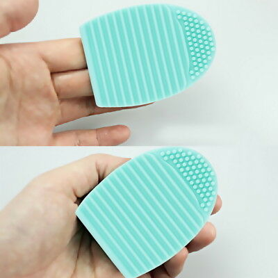 1pc Cleaning Cosmetic Makeup Brush Foundation Brush Silicone Cleaner Tool MX