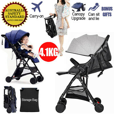 Lightweight Compact Fold Baby Stroller Pram Pushchair Travel