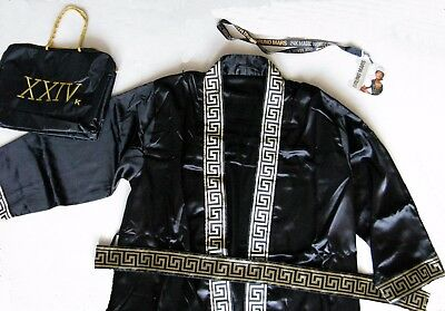 BRUNO MARS 2017 VIP Merchandise Set Includes: Satin Robe Belt and Bag – Laminate