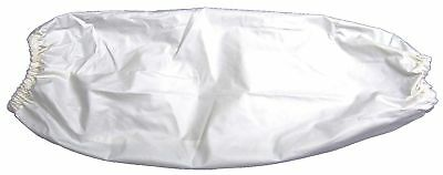 """Ansell PVC/Vinyl Cleanroom Sleeves, 18""""L, 8 mil Thickness, Elastic Cuff Style"""