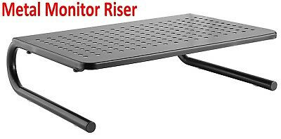 Riser Stand Computer LCD LED Monitor Laptop Desk Organizer Space Saver