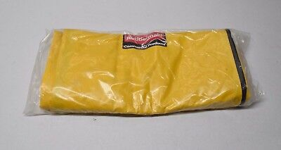 NEW Rubbermaid 64-6173-T1 Yellow Vinyl Bag For Cart 1861430 FREE SHIPPING
