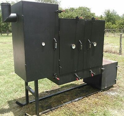 Custom BBQ Meat Smoker (Large)