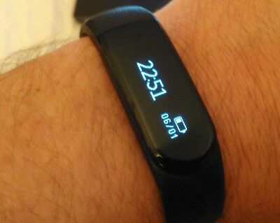 AsiaLONG Smart Bracelet with Heart Rate Fitness Tracker Watch Pedometer