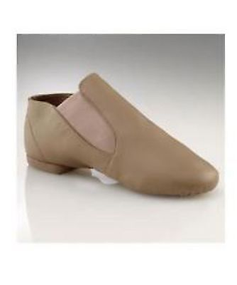 Capezio Jazz Ankle Boot - Taupe