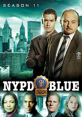 NYPD Blue: Season Eleven (DVD, 2016, 5-Disc Set)