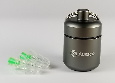 Aussco Motorcycle Shooting Earplugs Low-Profile Hearing Protection