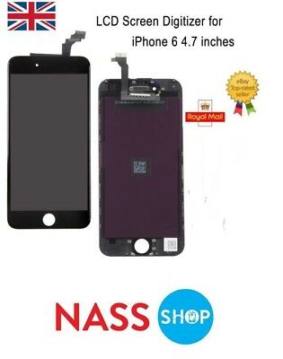 """OEM For IPhone 6 4.7"""" LCD Display Touch Screen Assembly Replacement Black UK"""