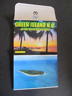 Vintage Murray Views Foldout Colour View Folder, Green Island Nth Queensland
