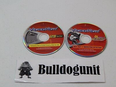 Lot of 2 PVD Video Now Discs Only Fear Factor Fairly Odd Parents