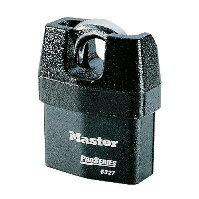 Stock Pcs. 3 Armored Padlock pro Master Lock Stainless Industrial 6327 MM.67
