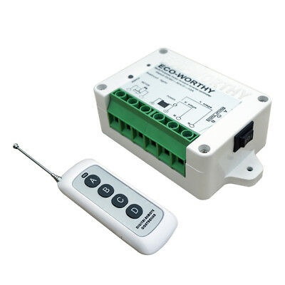 DC 12/24V Linear Actuator Controller Wireless Remote Inversion Control Kit Auto