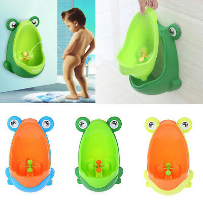 Children Frog Potty Toilet Training Kids Urinal Baby Boys Pee Trainer Bathroom
