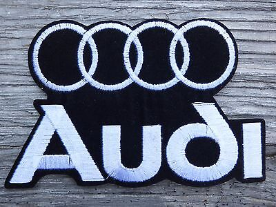 ECUSSON PATCH THERMOCOLLANT aufnaher toppa AUDI 80 100 200 a2 a1 a3 a4 a5 a6 a7