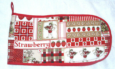 Strawberry Fairies Oven Gloves