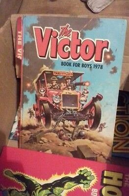 victor book for boys 1978