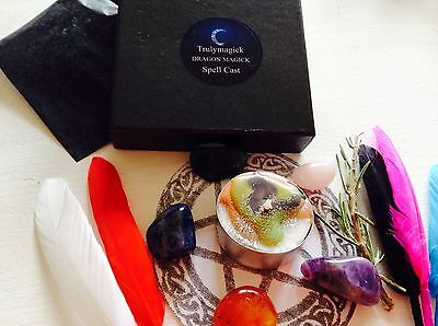 WITCH'S PROTECTION Spell kit ~ SPELL~Wicca Witchcraft Magic ~PAGAN WICCA