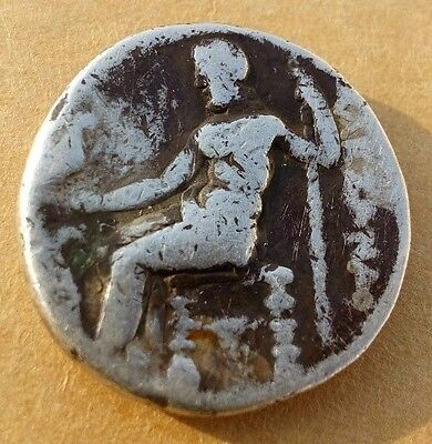 Indo Greek Silver Coin Weight 4.gm