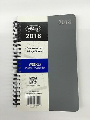 2018-Weekly-Monthly-Dated-Planner-Calendar-Yearly-Agenda-Appointment 2 page