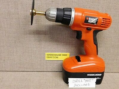 "Arbor For Cut-Off Wheels with 1/4"" and 3/8"" Holes #94950 Air Tool Cordless Drill"
