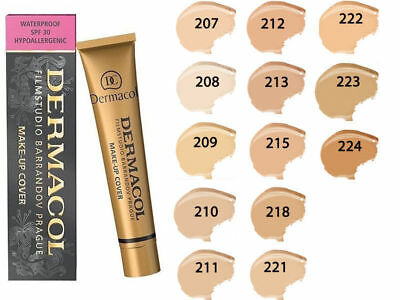 Dermacol High Covering Make 207.208.209..211.212.213.215.218.221.222.223.224