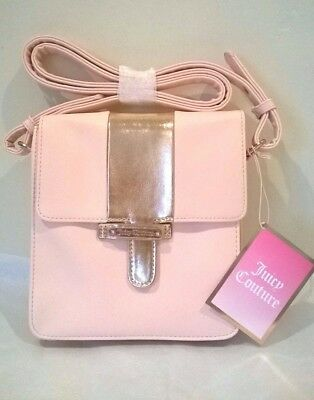 Juicy Couture pink and gold shoulder/Across Body Bag Small to Medium BNWT