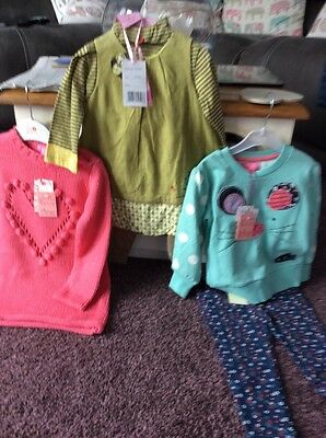 Baby Girls Bundle New With Labels