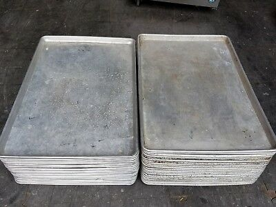 "Commercial 18"" x 26"" Full Size Aluminum Sheet Pan- Bakery,Restaurant Lot of 5"