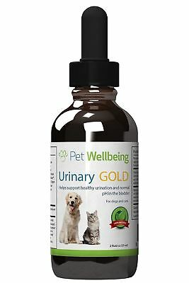 Pet Wellbeing - Urinary Gold for Dogs A Natural, Herbal Supplement Tract...