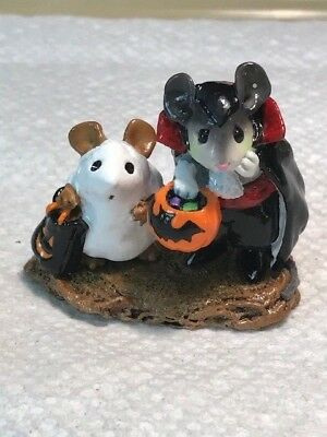 Wee Forest Folk Ghost and Dracula