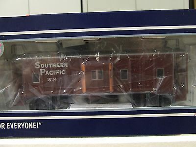 O Scale Atlas Trainman 2 Rail Bay Window Caboose Southern Pacific #1634