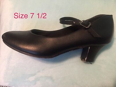 character shoes in black size 7 1/2