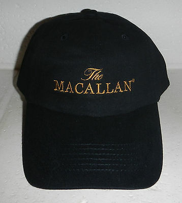 NEW The Macallan Distillery Single Malt Scotch Whiskey Whisky Baseball Hat Cap