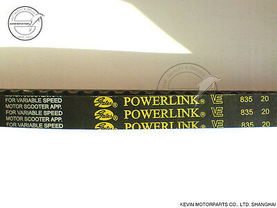 Gates Powerlink CVT Drive Belt 835 20 GY6 125 150cc Scooter Moped 152QMI 157QMJ